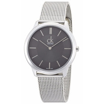Reloj Calvin Klein Minimal Collection Acero Gris K3m21124