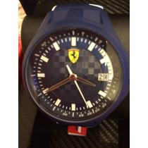 Reloj Original Scuderia Ferrari Modelo Reciente Sin Caja