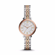 Jacqueline Mini Two-tone Stainless Steel Fossil Watch
