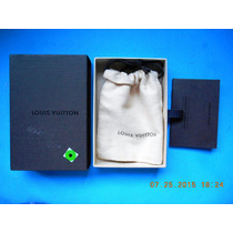 Louis Vuitton Caja Original Con Costalito Tela P/ Diversos