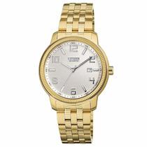 Reloj Citizen Bi0992-51a Acero Dorado Caballero