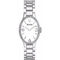Reloj Bulova Winslow Diamond Collection Mujer Blanca 96r191
