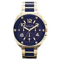 Reloj Michael Kors Tribeca, Azul Dorado Mk5769, Original Hm4