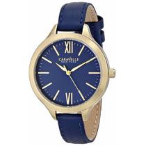 Reloj Mujer Caravelle New York By Bulova 44l153 Original