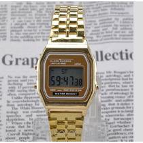 Relojes Acero Inoxidable Gold (sin Logo Casio)
