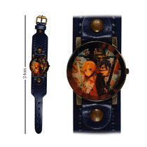 Reloj De Mano Sword Art Online Kirito Y Azuna Correa Gruesa!