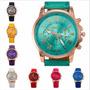 Lote De 10 Relojes Geneva Moda Proveedor Oferta Bonitos !!!