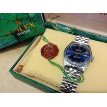 Rolex Datejust Md 16220 Acero Zafiro Cambio Rapido Estuche