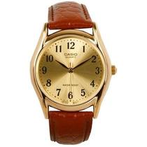 Reloj Casio #mtp-1094q-9b Marrón