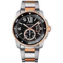 Reloj Cartier Calibre Automático Oro Rosado 18k W7100054