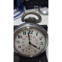 Reloj Reglamentario Elgin Bolsillo De Cuerda