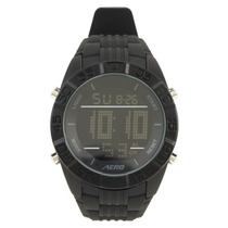 Aeropostale Rubber Strap Digital Watch Reloj Hombre,original