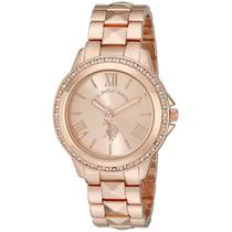 Reloj Mujer Us Polo Assn 40078 100% Original Envio Gratis