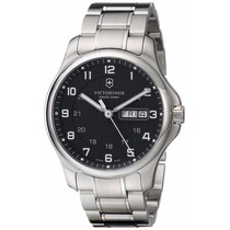 Reloj Victorinox Officers Analogo Acero Inoxidable 241590