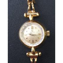 Omega Oro Solido 18k Vintage. Cuerda. Dama