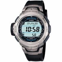 Reloj Casio Protrek Paw500 - Altímetro - Barómetro - Cfmx
