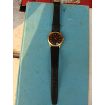Reloj Alfa En Chapa De Oro Hermoso De Cuerda , Mide 3.3 Cm D