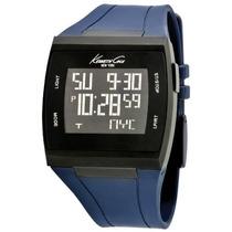 Reloj Kenneth Cole Kc1669 Azul Masculino