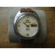 Reloj Orient Automático. Vintage. 3 Estrellas.