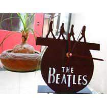 Reloj Beatles Corte Por Plasma Para Decoración De Interiores