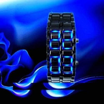 Reloj Relojes Iron Samurai Led Watch ** Padrisimos ** Omm