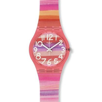 Reloj Swatch Gp140 Rosado Femenino
