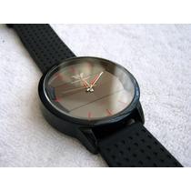Moderno Reloj Emporio Armani Negro / Rojo Subasta 1 Peso