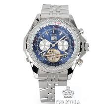 Reloj Orkina Mecanico-automatico Marca De Lujo Azul