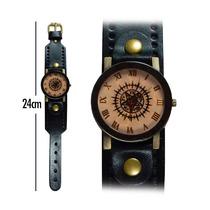 Reloj De Mano Kuroshitsuji Correa Gruesa Negra