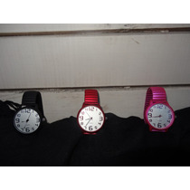 Relojes Unisex , Extensible Acabado Metálico