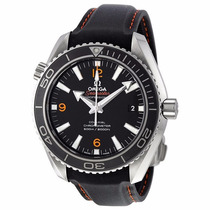 Reloj Omega Seamaster Planet Ocean Piel Negra 23232422101005