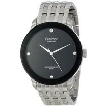 Reloj Armitron 20/4925bksv Plateado