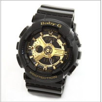 Reloj Casio Baby G Ba-110-1 W Time Wr100m 5 Alarmas