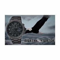 Citizen Eco Drive Nighthawk Ca0295-58e Nuevo, Etiquetas Estu