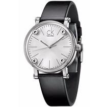 Reloj Calvin Klein Cogent Análogo Piel Negra K3b2t1c6