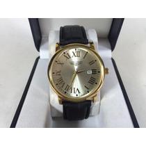 Elegante Reloj Longines, Nuevo Modelo, Calendario Fechador