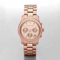 Reloj Michael Kors Rose Gold-tone Mujer Mk5128 Envio Gratis