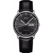 Reloj Mido Commander Automático Piel Negra M0164301606122