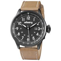 Reloj Infantry Modelo In- 094 Forcer Correa Negra/ Cafe
