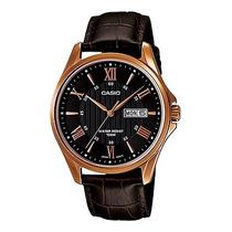 Reloj Casio Caballero Mtp1384l - 1av Analogo 100% Original