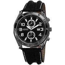 Reloj August Steiner As8117bk Negro
