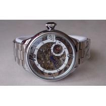 Grandisimo Fascinante Reloj Esqueleto Automatico Importado