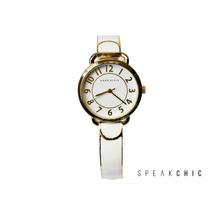 Reloj Anne Klein 1606 Blanco Con Dorado