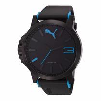 Relojpuma Pu102941002 Azuly Negro Original *envio Gratis*