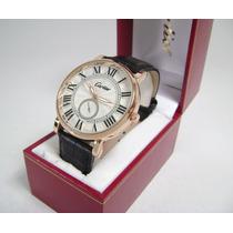 C A R T I E R . Reloj Acero/piel Nuevo Ndb1 V