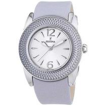 Reloj Festina F16592-2 Ladies Nylon Leather Strap