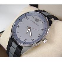 Reloj . A R M A N I .. E M P O R I O . Acero/ Caucho Kcopg1