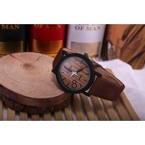 Reloj Moda Color Madera Envio Gratis Express!