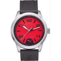 Reloj Puma Hombre Rojo Y Negro Motorsport Pu104041002