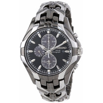 Reloj Seiko Excelsior Solar Doble Tono Ssc139